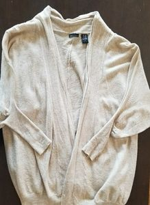 Cream cardigan size small super comfy